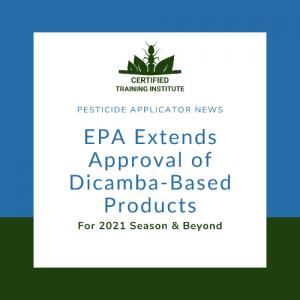 EPA Dicamba Decision – 500